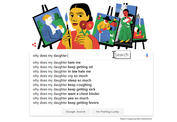 what people are google searching about you