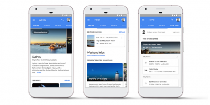 You Can Now Plan Vacations Using Google Search
