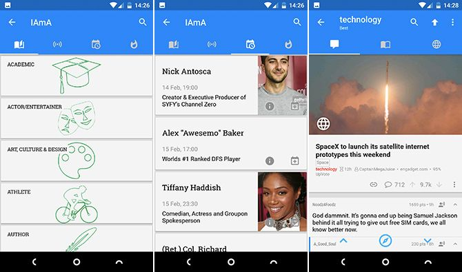 best reddit apps for android