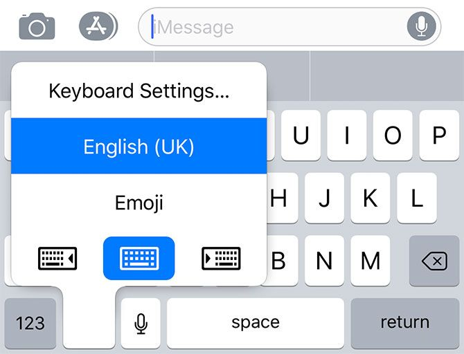 iOS 3D Touch Keyboard