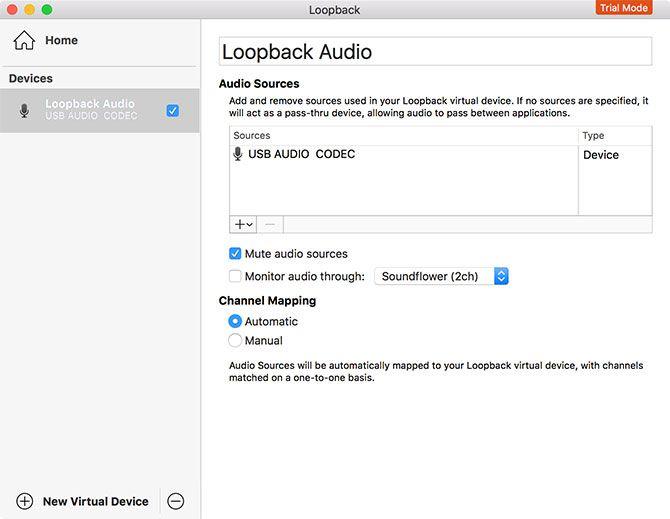 Loopback by Rogue Amoeba