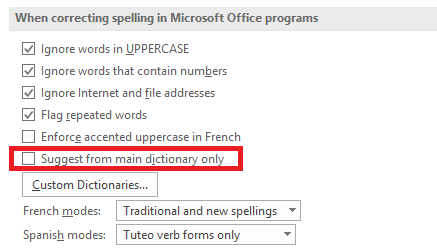 how to spell and grammar check in microsoft word ms word dictionary main