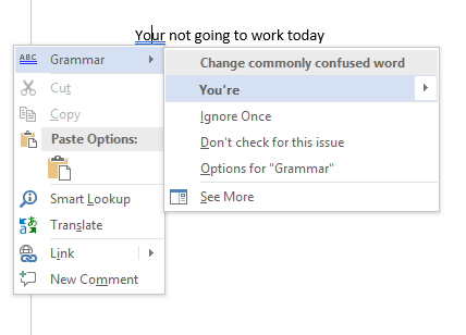 How To Spell And Grammar Check In Microsoft Word