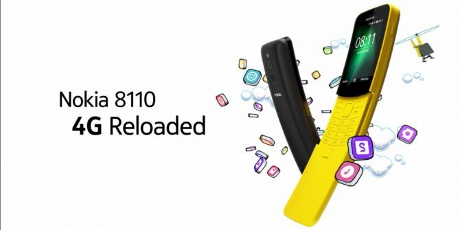 The New Nokia 8110 4G Is for Nostalgia Nerds