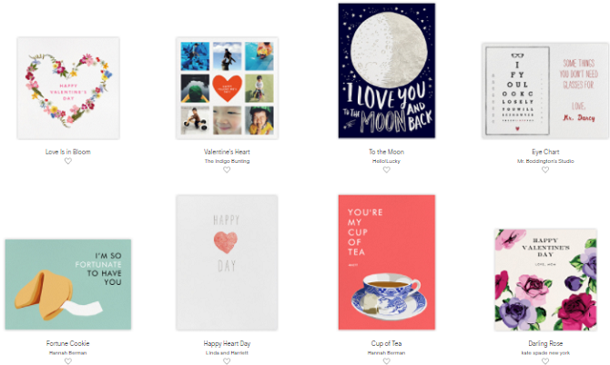 3 Sites That'll Get You in the Mood for Valentine's Day paperless post 670x401