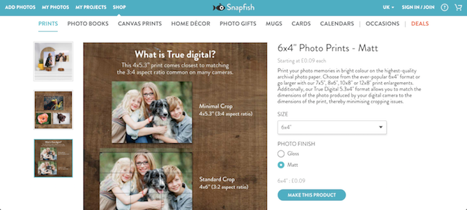 print high-quality photos online or at home