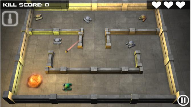 tank games - Tank Hero battle