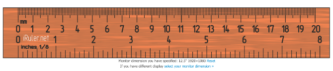 how to measure compare size of anything