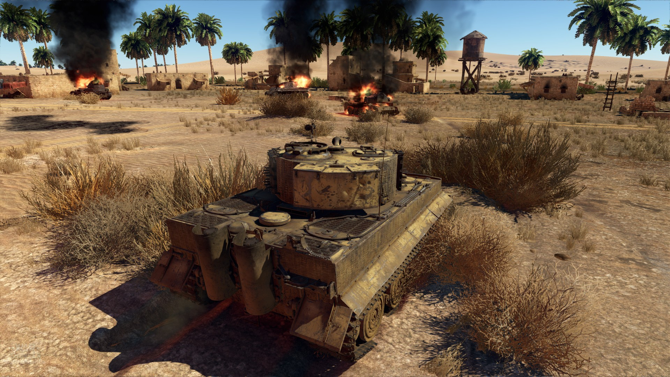 tank games - War Thunder tank screenshot