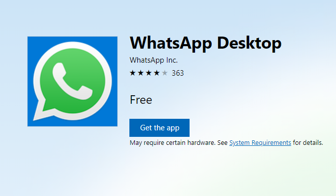 WhatsApp Desktop Client for Windows & Mac Is Only Second Best whatsapp 1