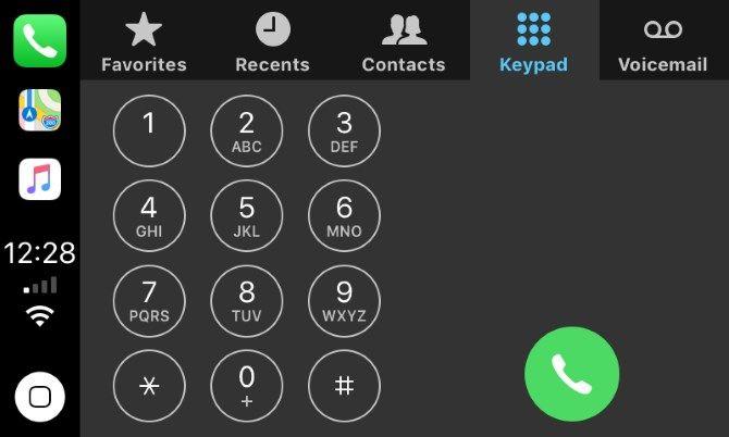 Apple CarPlay Phone