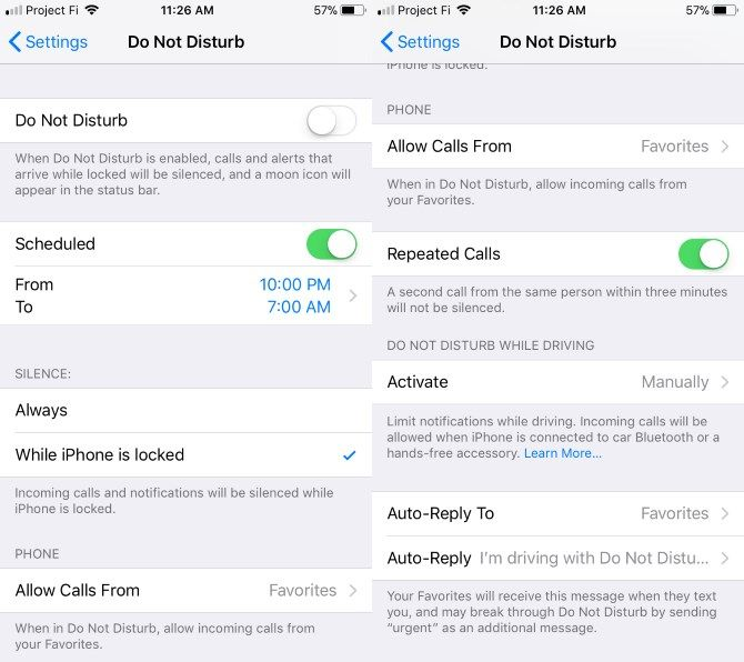 "Why You Need to Be Using Your iPhone's ""Do Not Disturb"" Feature 06 iPhone Do Not Disturb"