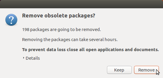 Remove obsolete packages?