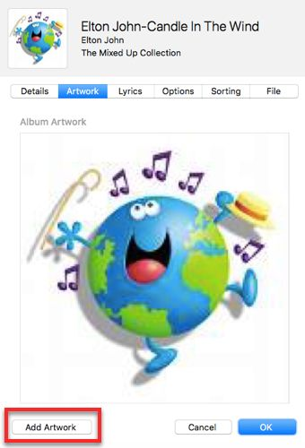 How to Manually Add Album Art to iTunes