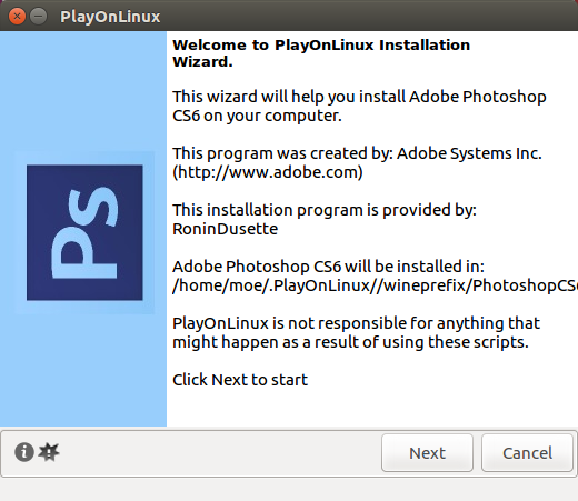 How to Install Adobe Photoshop on Linux - PS Installer