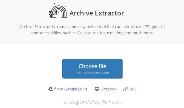 rar file extractor online