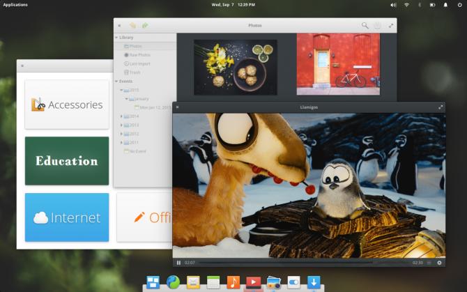 Elementary OS Desktop Environment