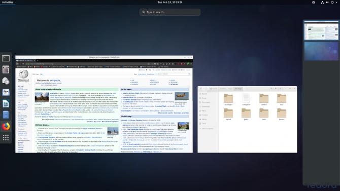 Fedora Desktop Environment