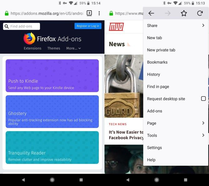 Firefox Android Open Source