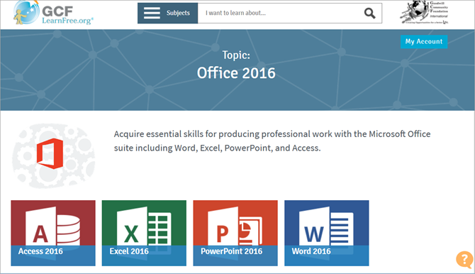 Learn office excel