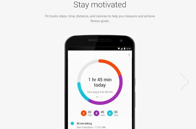 free pedometer apps - Google Fit Steps