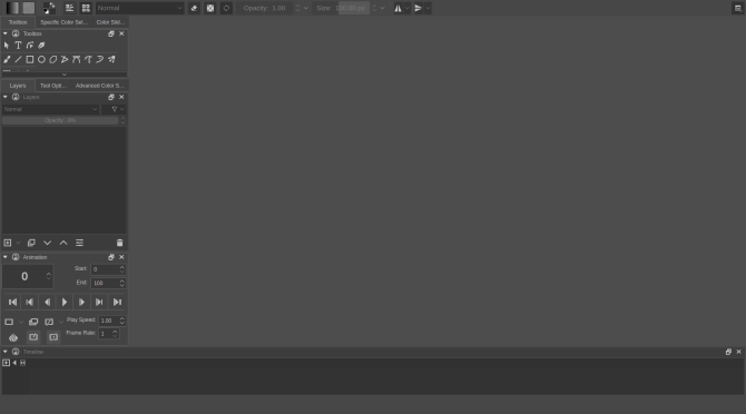 how to use krita - animations