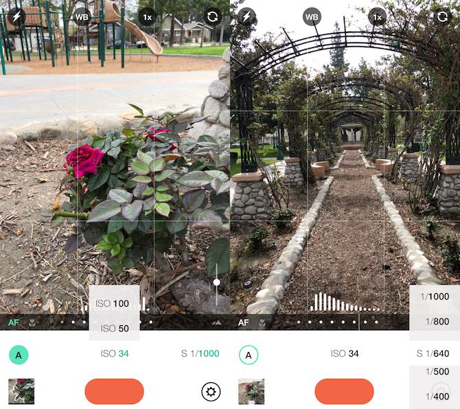 camera apps - manual