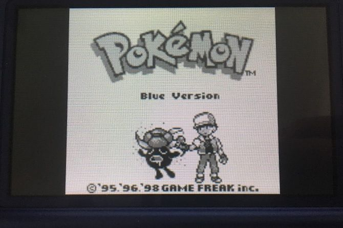 pokemon blue download emulator