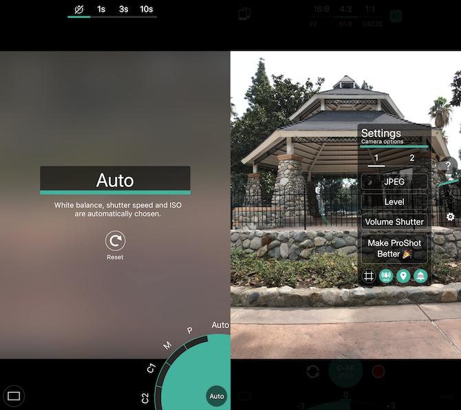 camera apps - proshot