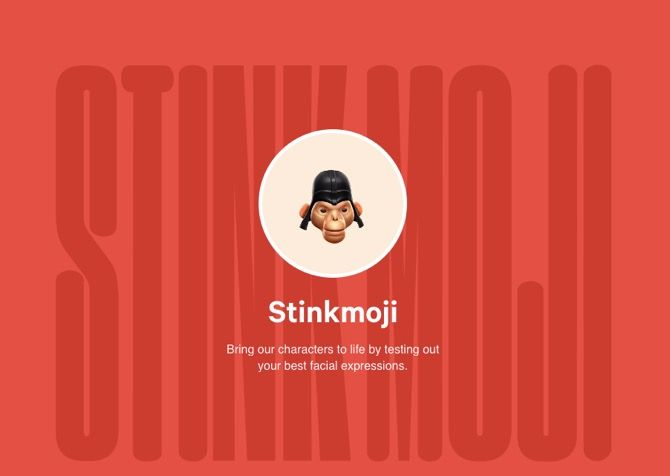 Try on a New Face at Stinkmoji!
