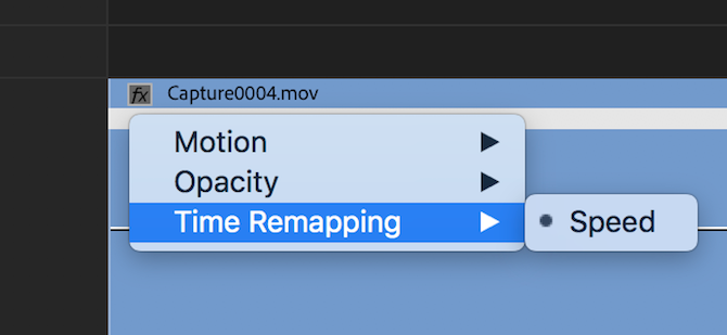 time remapping premiere pro - timeline speed