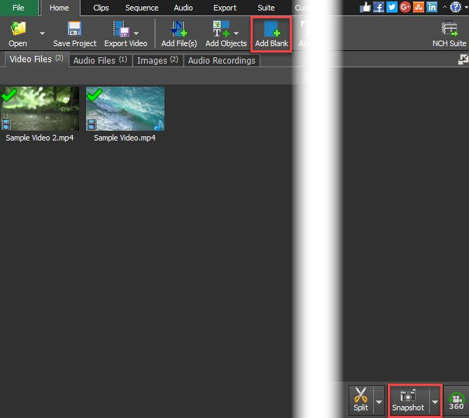 How to edit videos like a pro with videopad video editor videopad add snapshot ccuart Gallery