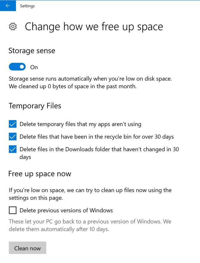 How to Automatically Delete Old Files in the Windows Downloads Folder Windows10 Clean Download Folder e1522254583974