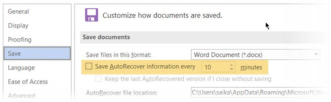 Why You Should Stop Using AutoSave in Microsoft Office 365