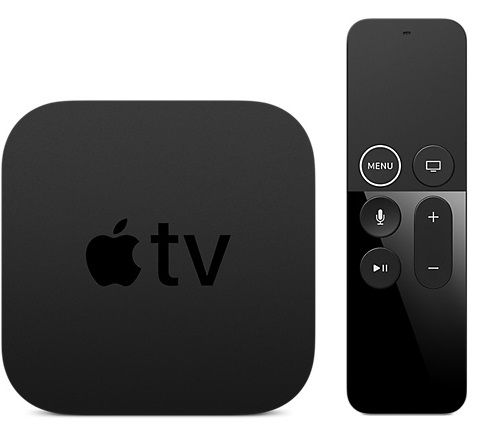 streaming devices compared - apple tv 4k