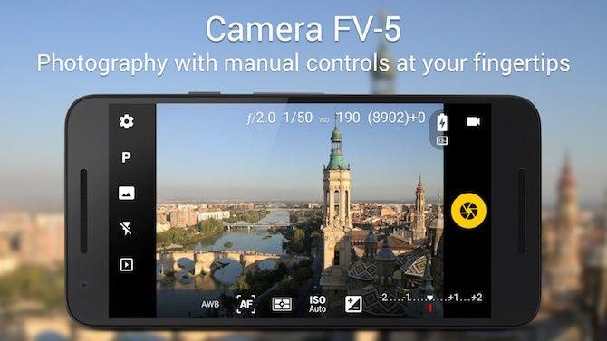 camera apps - camera fv5