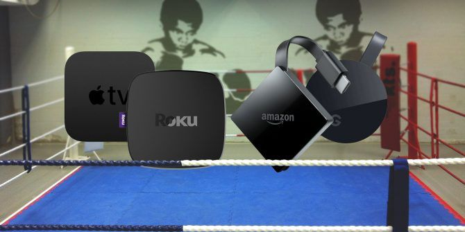 Chromecast Ultra vs  Apple TV 4K vs  Roku Ultra vs  Amazon Fire TV