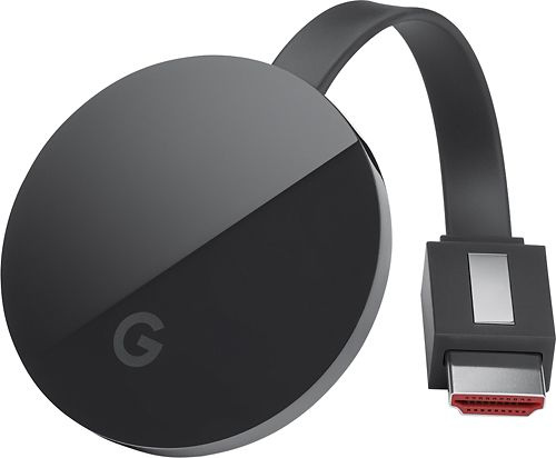 streaming devices compared - chromecast ultra