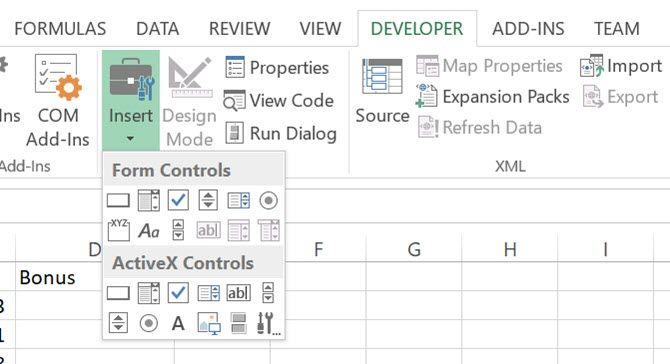 Microsoft Excel view code