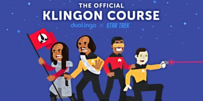 You Can Now Learn to Speak Klingon Using Duolingo