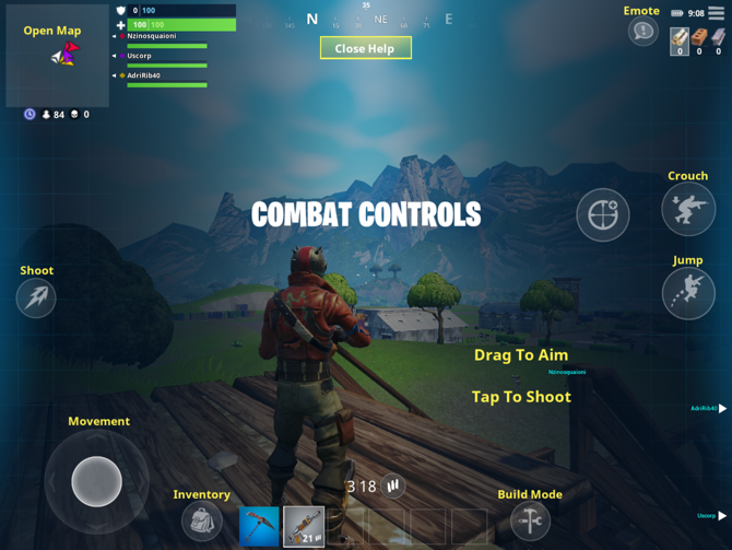 how to fix fortnite controls