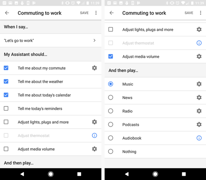 google assistant routines automate daily life