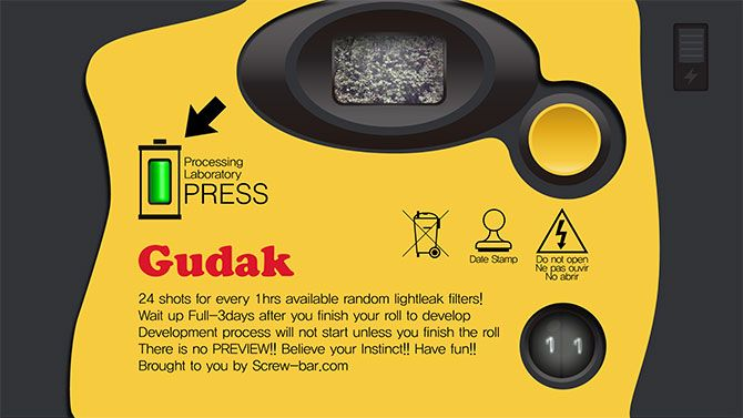 Gudak for iPhone