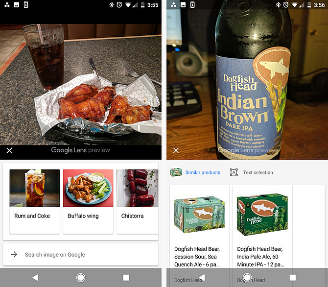 Google Lens Identify Food and Drink