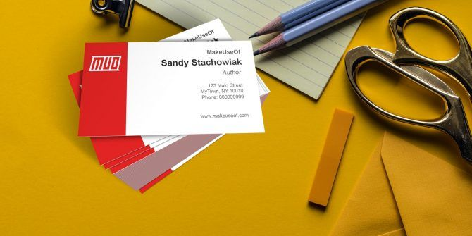 How To Make Free Business Cards In Microsoft Word With Templates - Free business cards template
