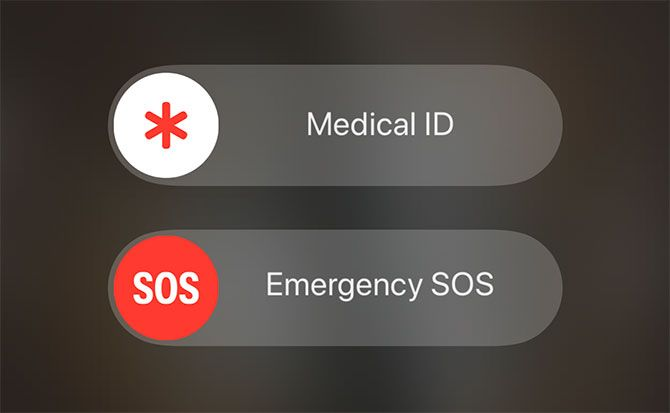 iOS Emergency SOS Mode