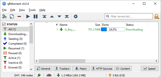 The Best Windows Software qBittorrent Interface