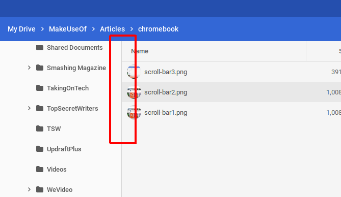 Fix Chromebook Annoyances - auto-hiding scrollbars