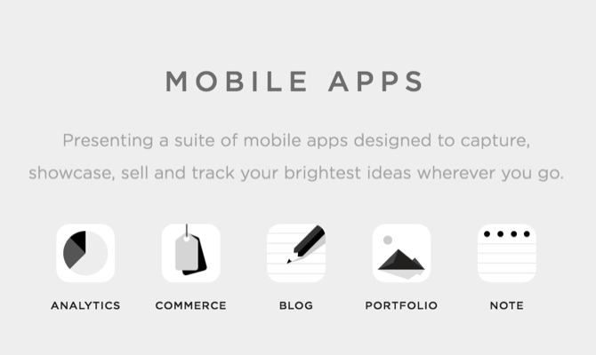 Squarespace mobile apps