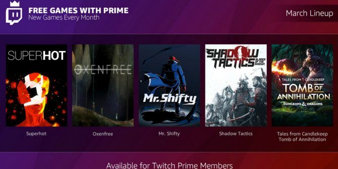 You Can Now Get Free Games With Amazon Prime